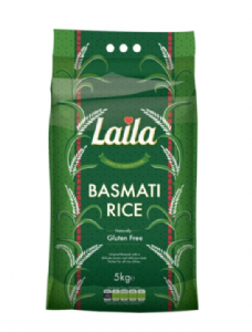 Laila Basmati Rice 5KG | Buy Online at the Asian Cookshop